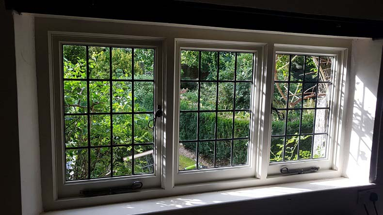 Period Casment Window Post Repair