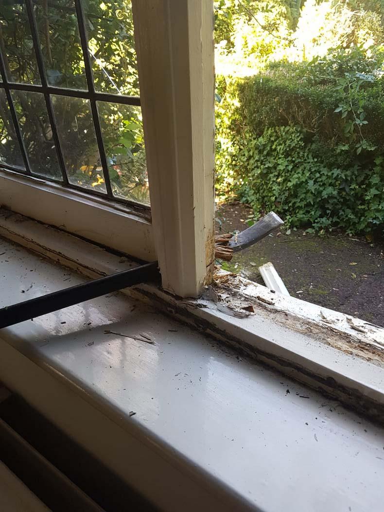Period Casment Window Pre Repair
