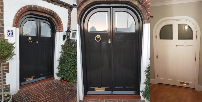 Double Entrance Accoya Door