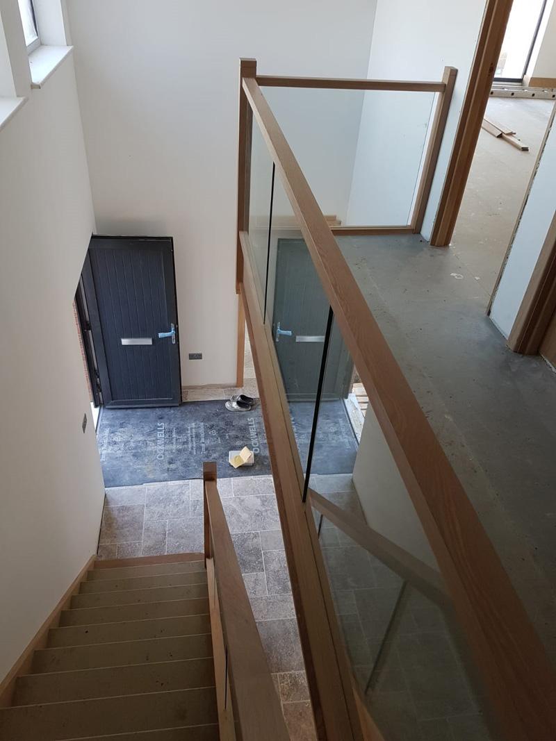 American Oak Staircase1