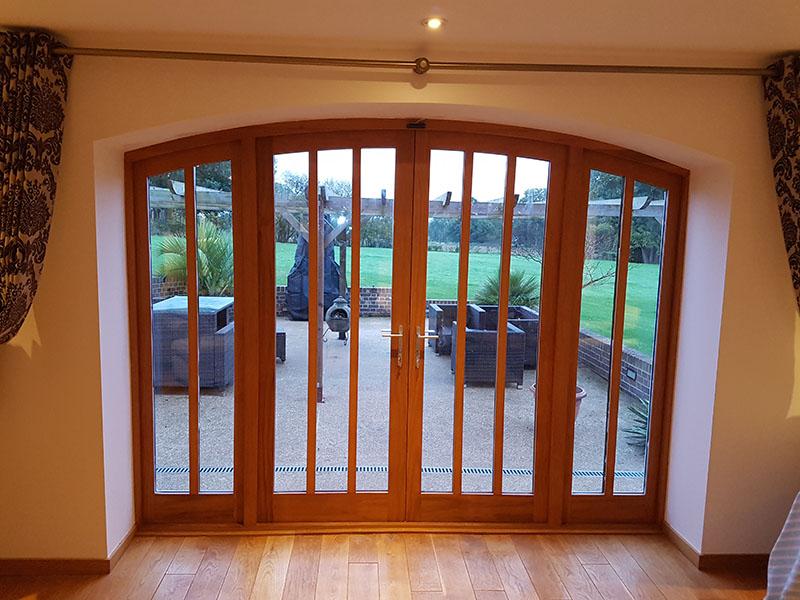 Accoya Door Installation By Spittlywood