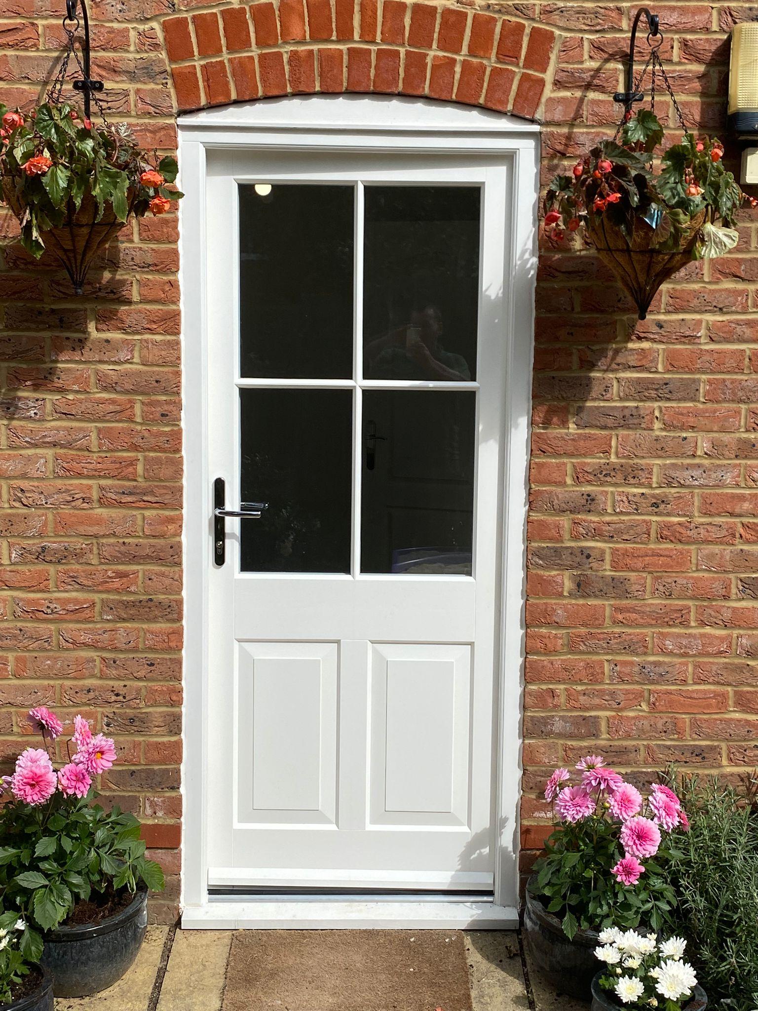 Sapele Hardwood Windows Doors 4